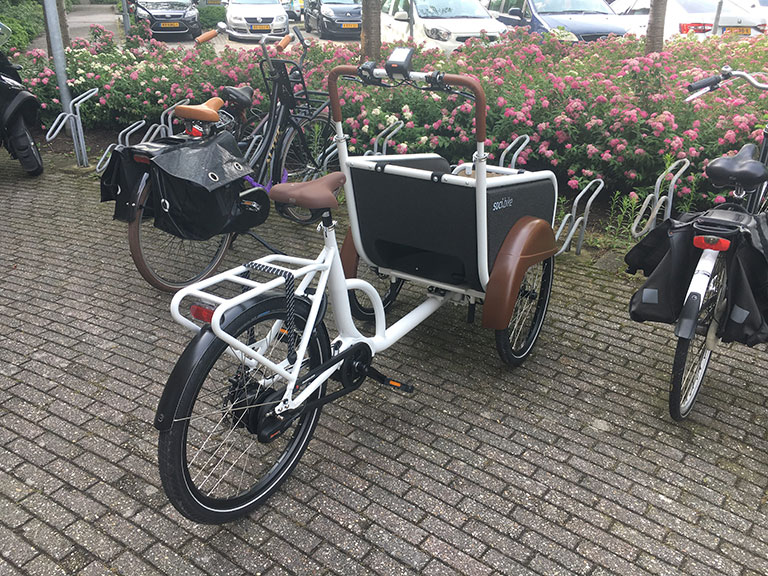 Ervaring soci.bike ambassadeur Anouk van den Brink
