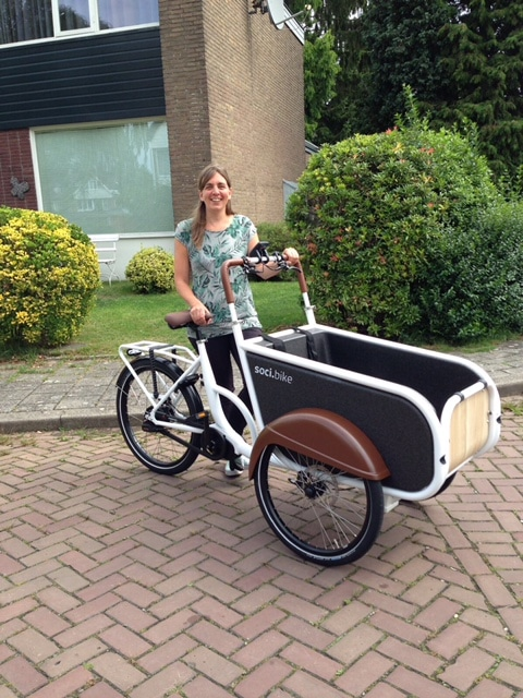 Over soci.bike ambassadeur Willeke Peeters