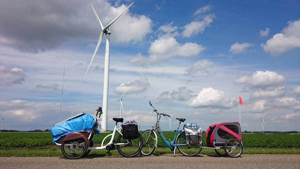 soci.bike bij de windmolens