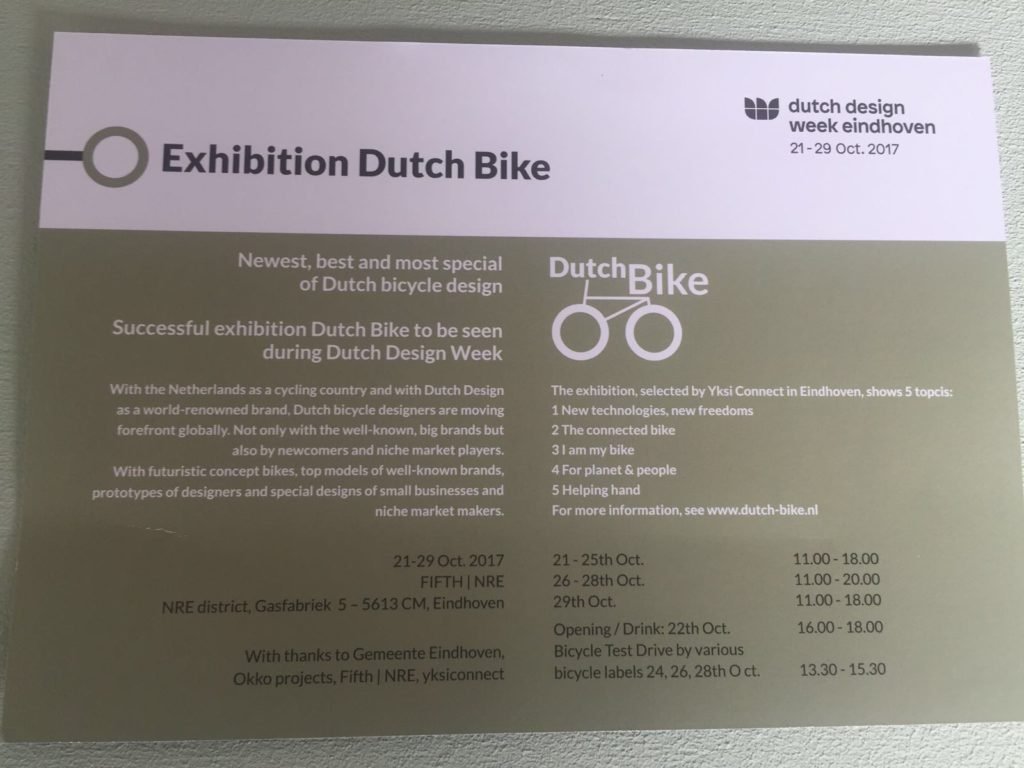 soci.bike DDW expositie Dutch Bike