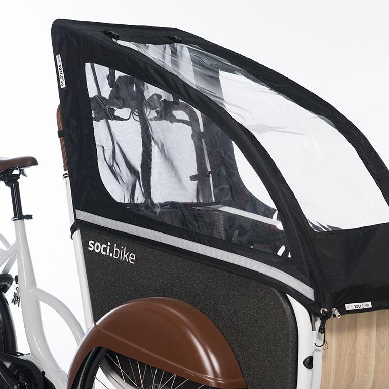 soci.bike bakfiets huif