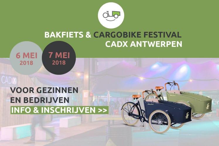 Bakfiets- & Cargobike Festival Antwerpen