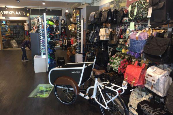 soci.bike bakfiets dealer Neptunus Tweewielers