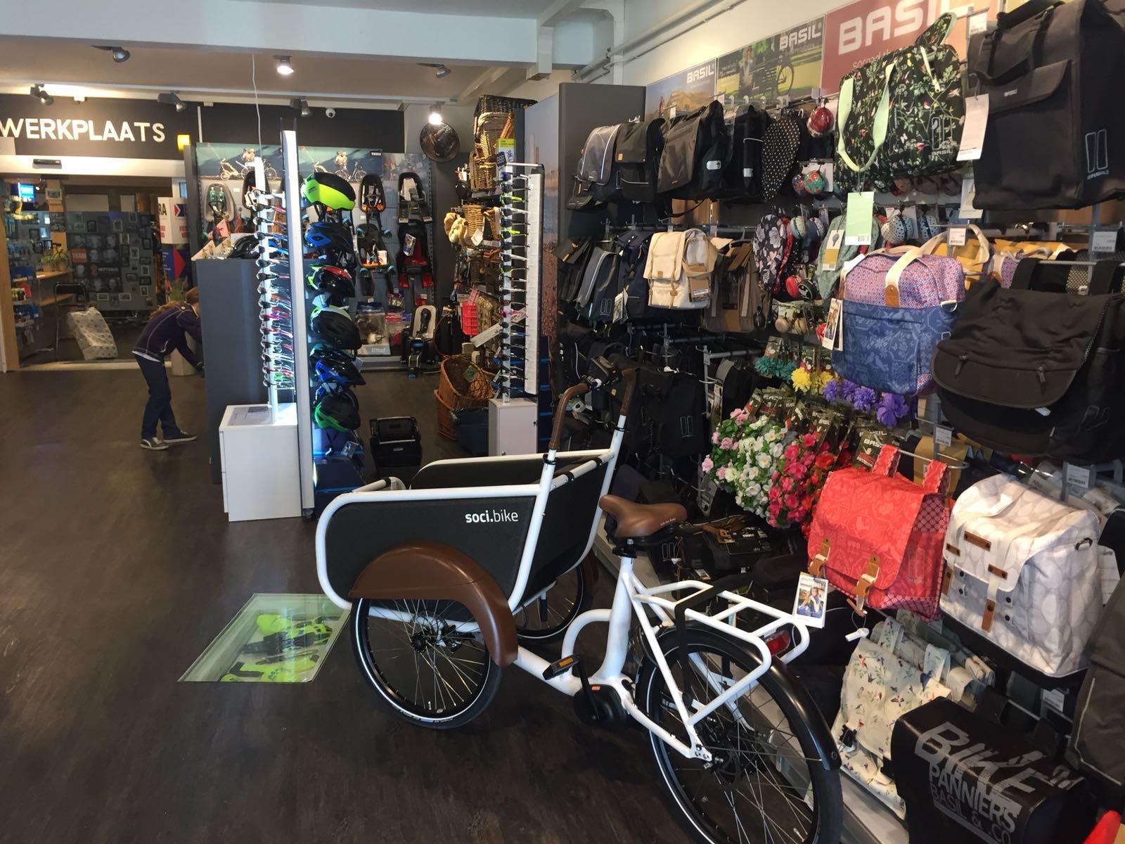 Over soci.bike ambassadeur Neptunus Tweewielers