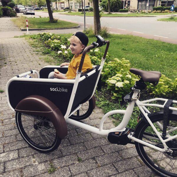 Kids en Kurken test soci.bike bakfiets