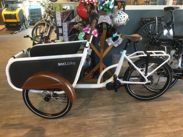Bike Store dealer soci.bike elektrische bakfiets