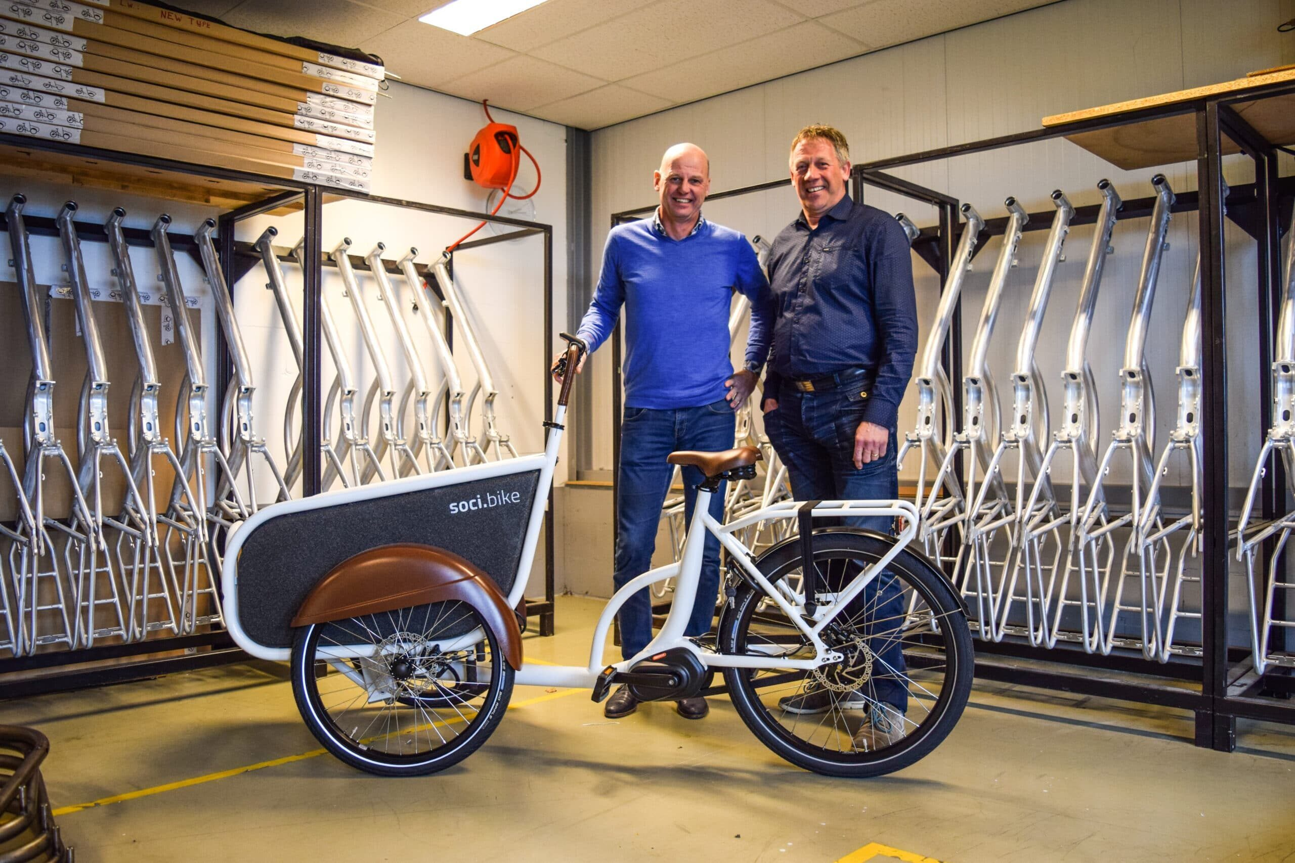 Geld Innovatiefonds NH voor project CargoBike