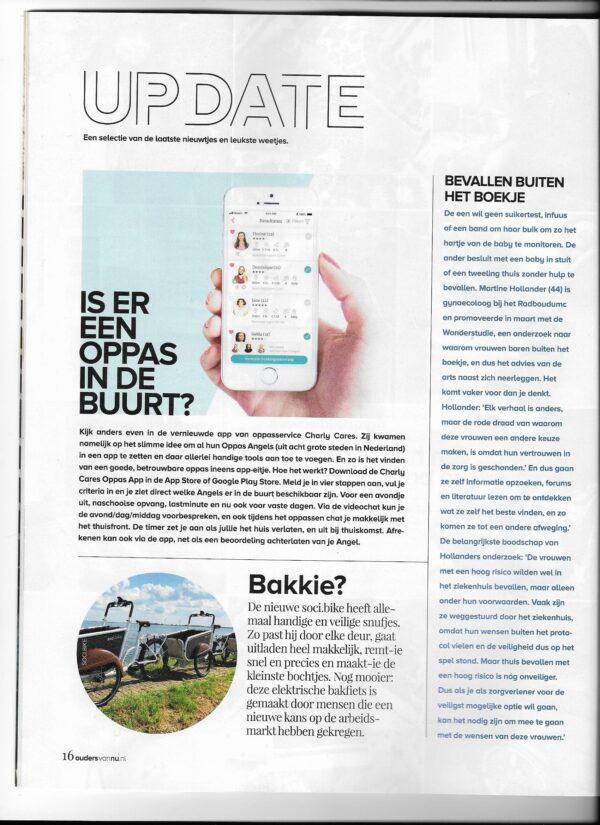 soci.bike bakfiets in Ouders van Nu