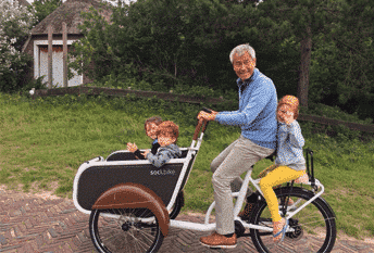Soci.bike elektrische driewieler