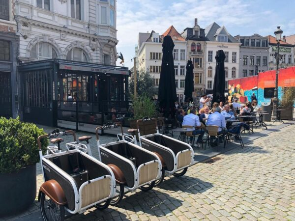 bakfietsfestival Antwerpen soci.bike bakfiets