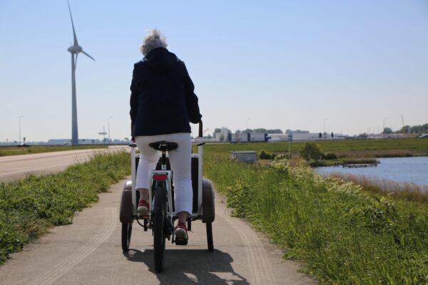 soci.bike bakfiets met motor
