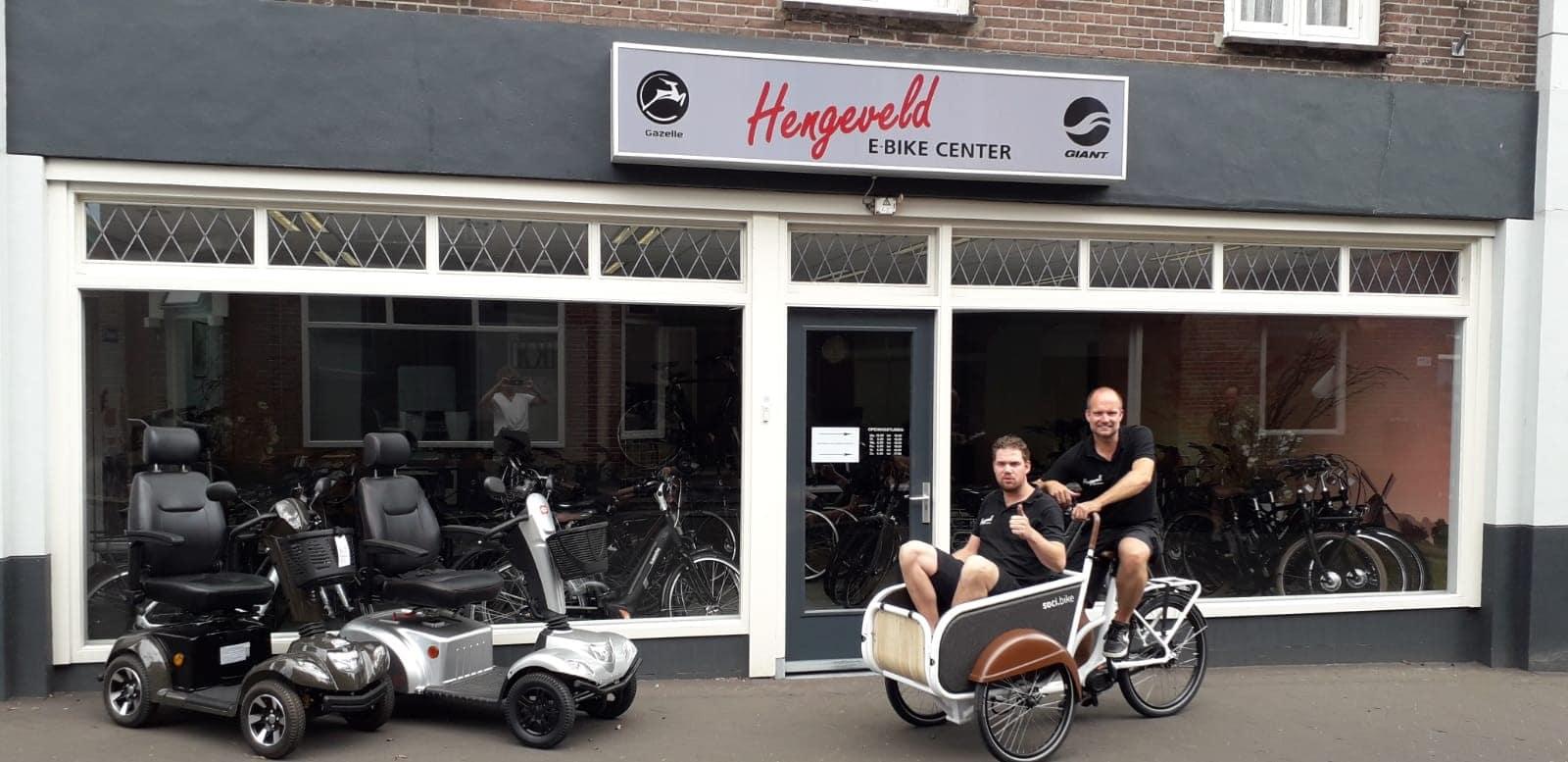 Over soci.bike ambassadeur Hengeveld e-bike center