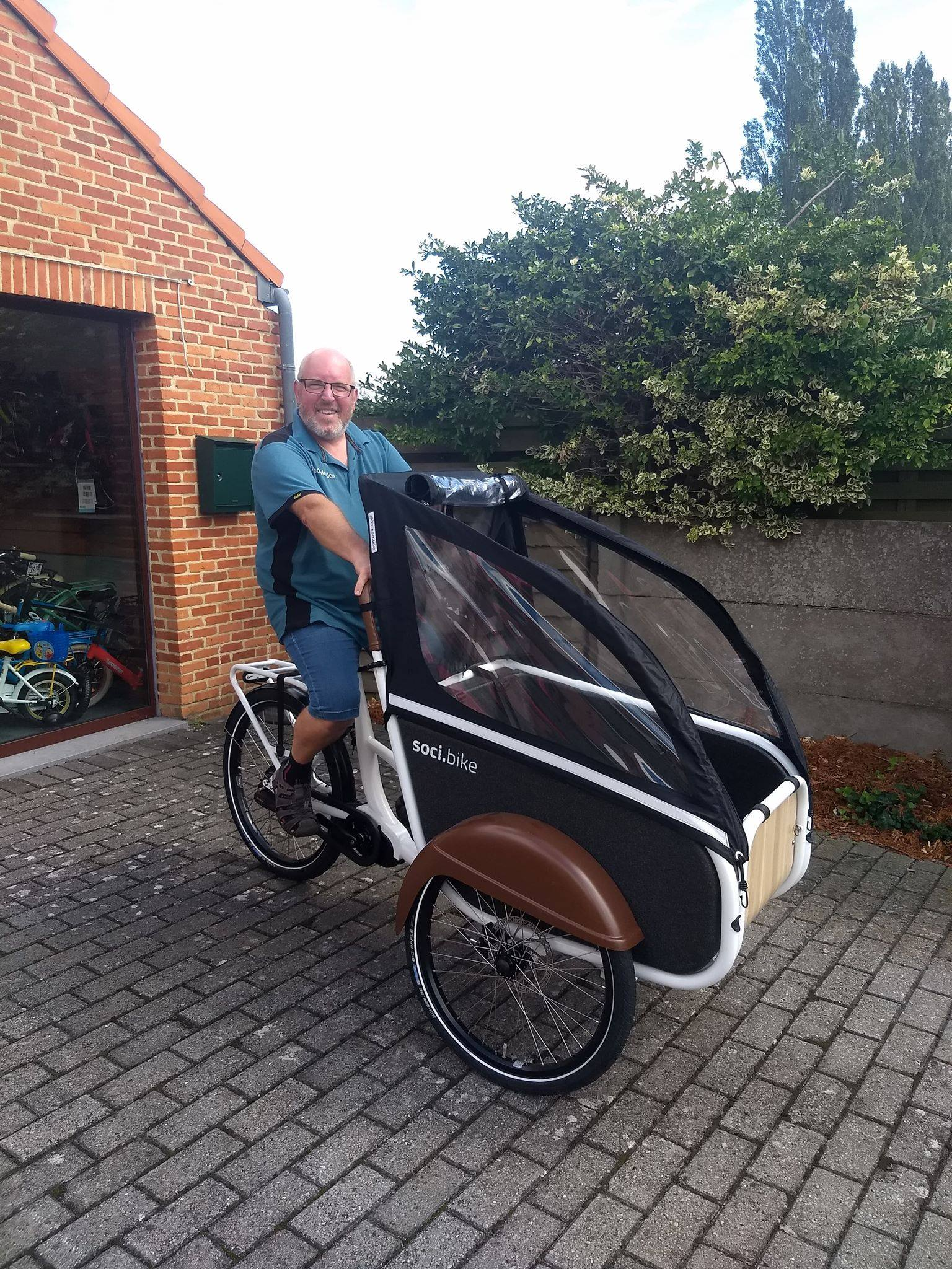Over soci.bike ambassadeur Fietsboerke Jos