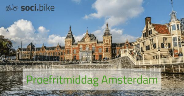Proefritmiddag soci.bike bakfiets Amsterdam