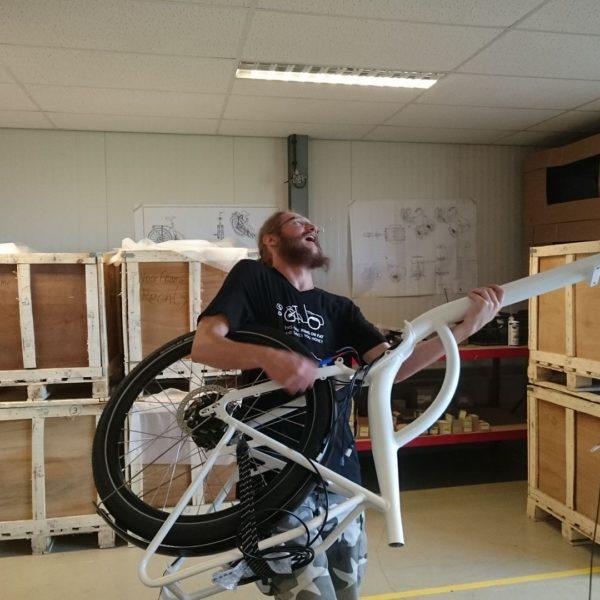 soci.bike bakfiets werkplaats