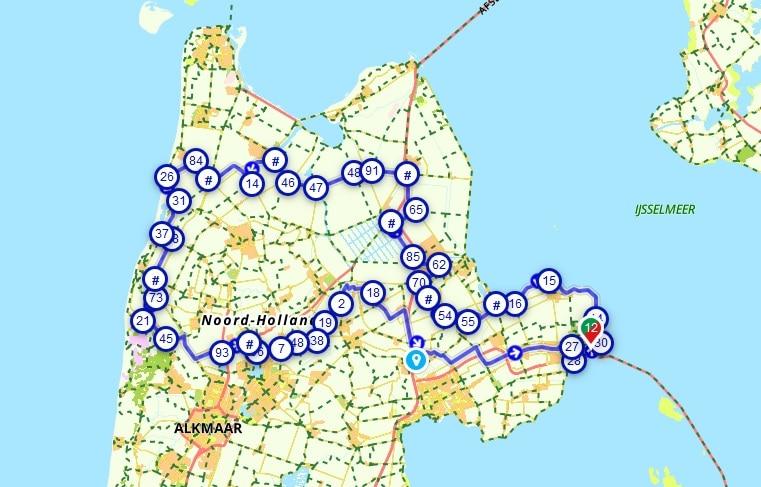 soci.bike bakfiets B-Turtle fietsroute NHN