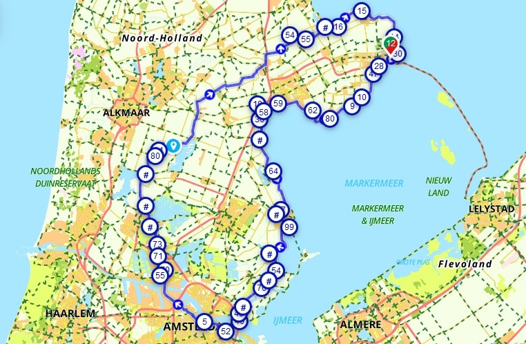 soci.bike bakfiets B-Turtle fietsroute NHZ
