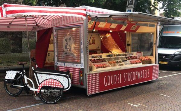 soci.bike bakfiets Arno's Stroopwafelkraam