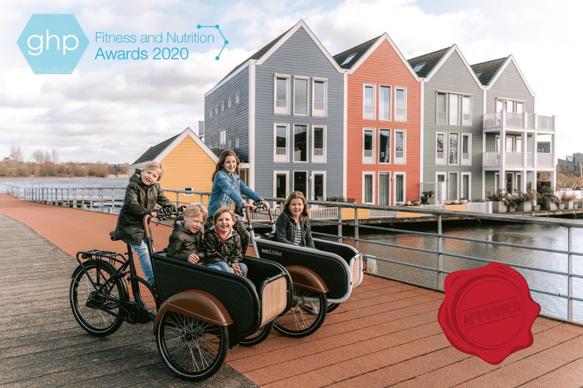 soci.bike Beste fabrikant van elektrische bakfietsen - West-Europa