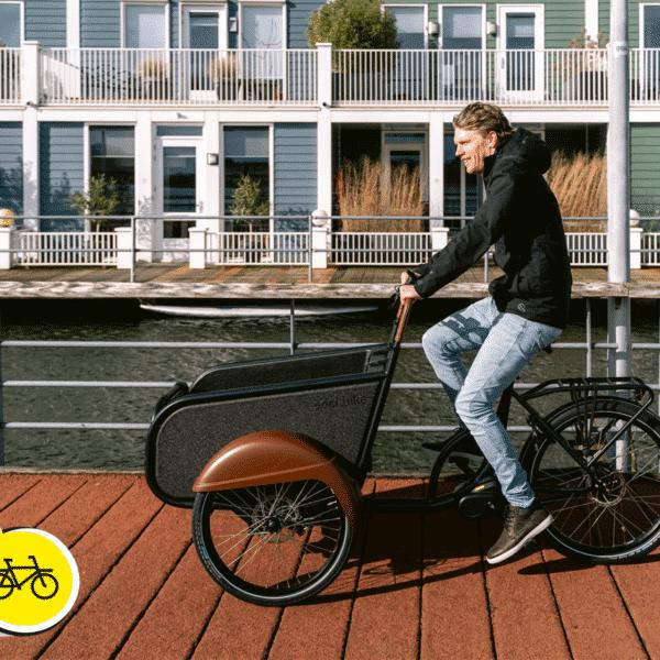 Fiets naar je werk dag met soci.bike bakfiets