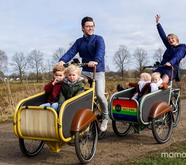 Dehuismama soci.bike bakfiets Mamaplaats