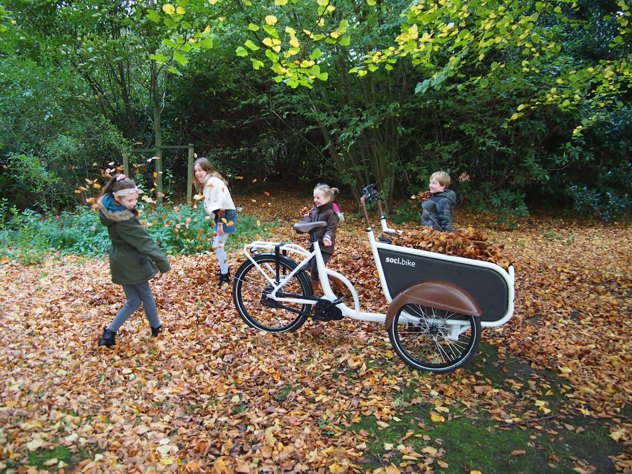 soci.bike bakfiets herfst herfstvakantie